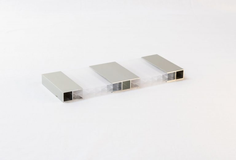 Aluminium-h profielsysteem